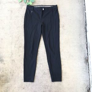 Tory Burch Black High Waisted Leggings Pants